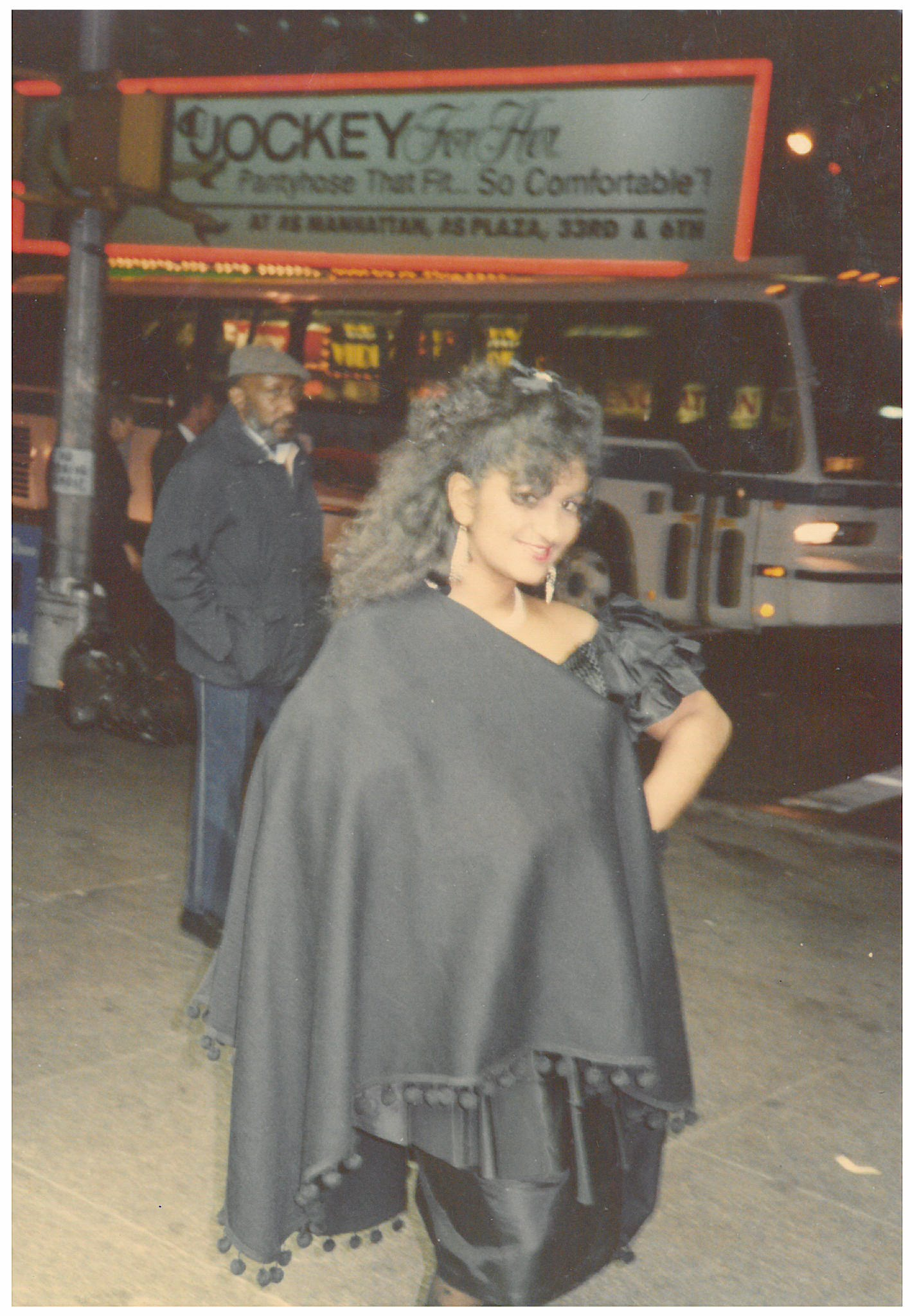 Big hair in the 1980s