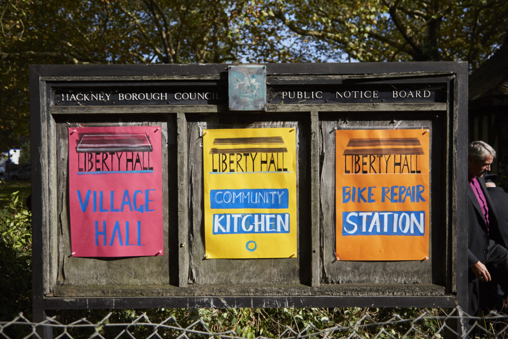 six billboards on clapton common, hackney