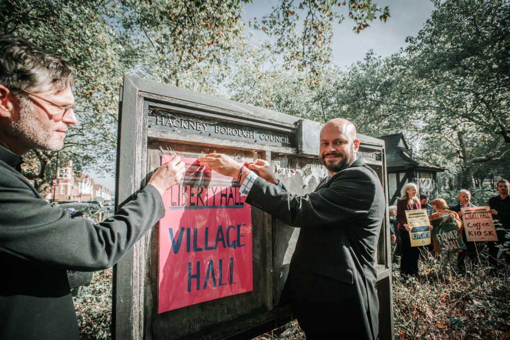 Mayor of Hackney and the Village Hall