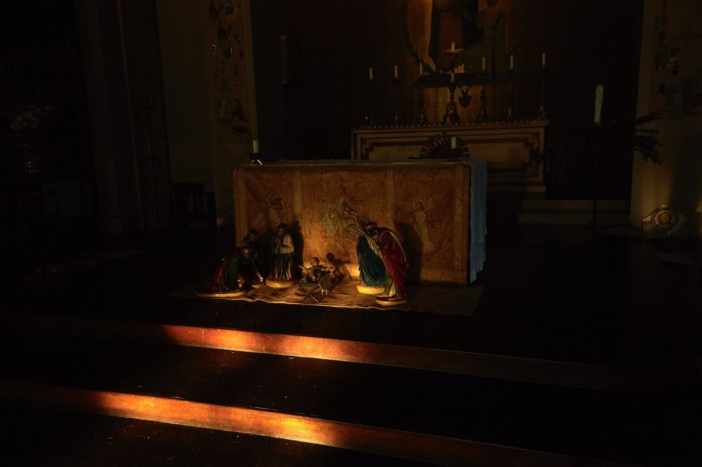Winter Light in St Thomas' Church