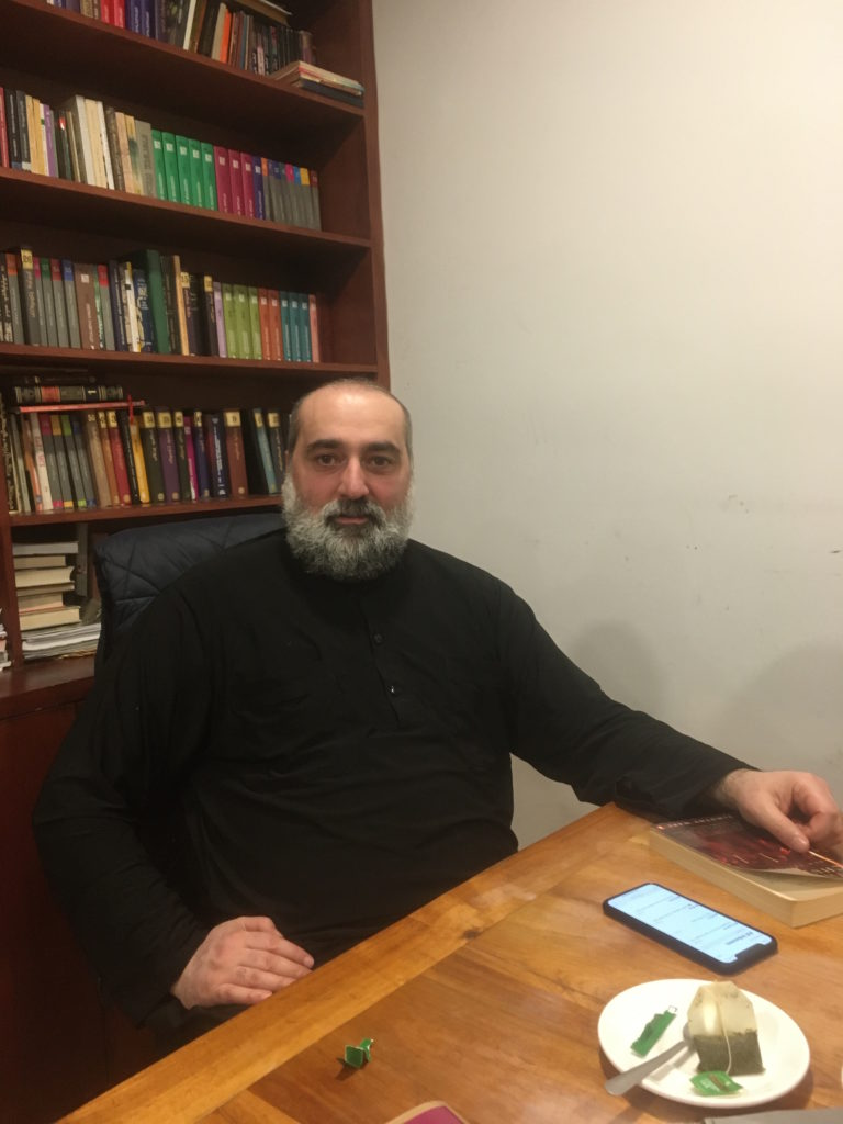 Fr Dorote – Georgian Orthodox priest